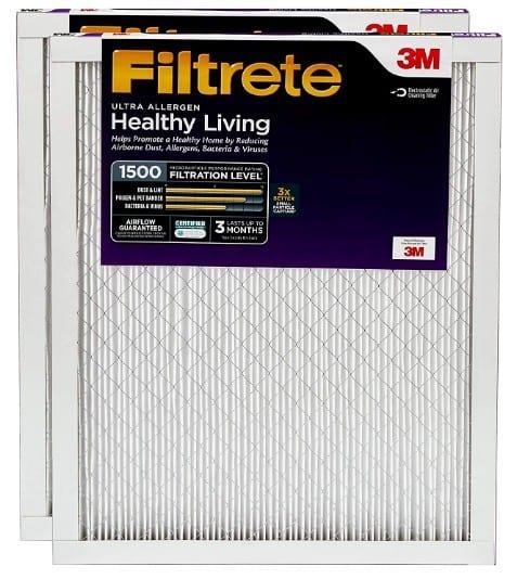 Filtrete MPR 1500 AC Furnace Air Filter