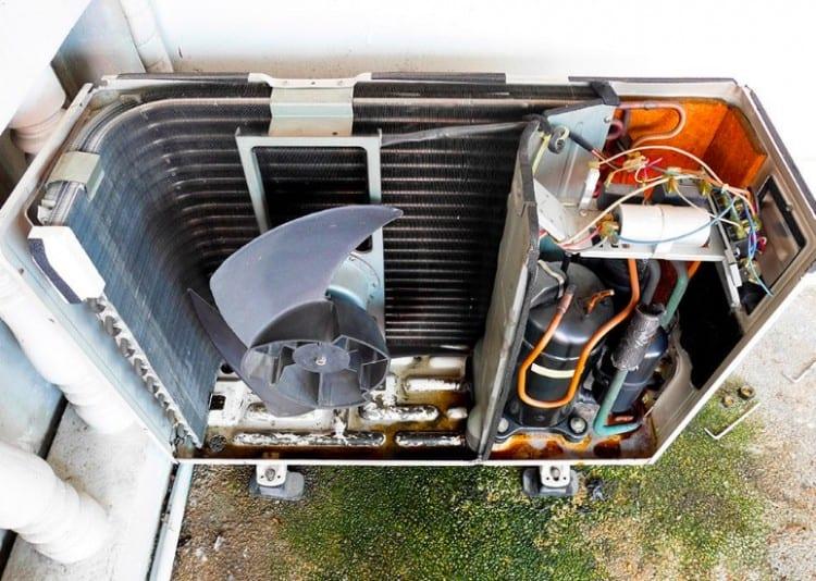 AC compressor failure