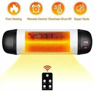TRUSTECH Electric Infrared Outdoor Patio Heater