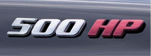 500HP Badge