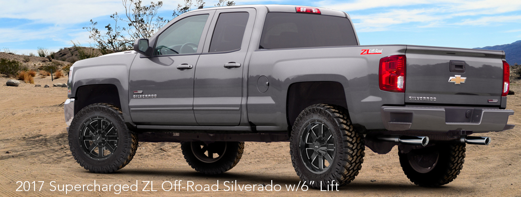 "2017 Sport Edition 575HP ZL Off-Road Silverado w/6"" Lift"