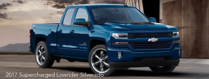 2017 High/Output Series 800HP Lowrider Silverado