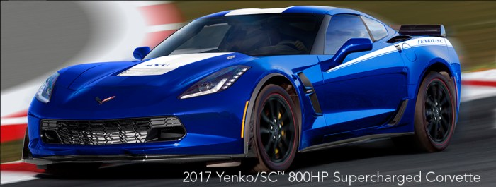 2017 Yenko/SC 800HP Supercharged Corvette