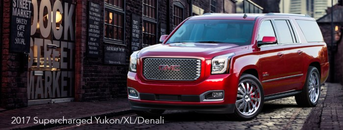 2017 Supercharged Yukon/XL/Denali