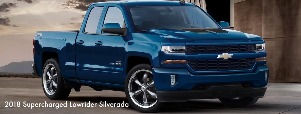 2018 Silverado Lowrider