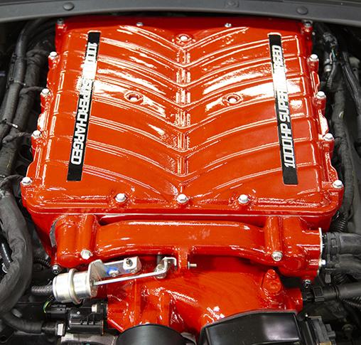 2019 Yenko Camaro 1000HP supercharger