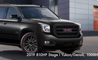 2019 810HP Stage I Yukon/Denali, 1000HP Stage II Yukon