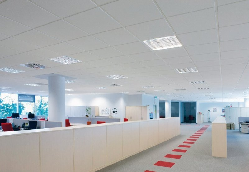 Knauf AMF Ceilings Acoustic Range is the ONE you need