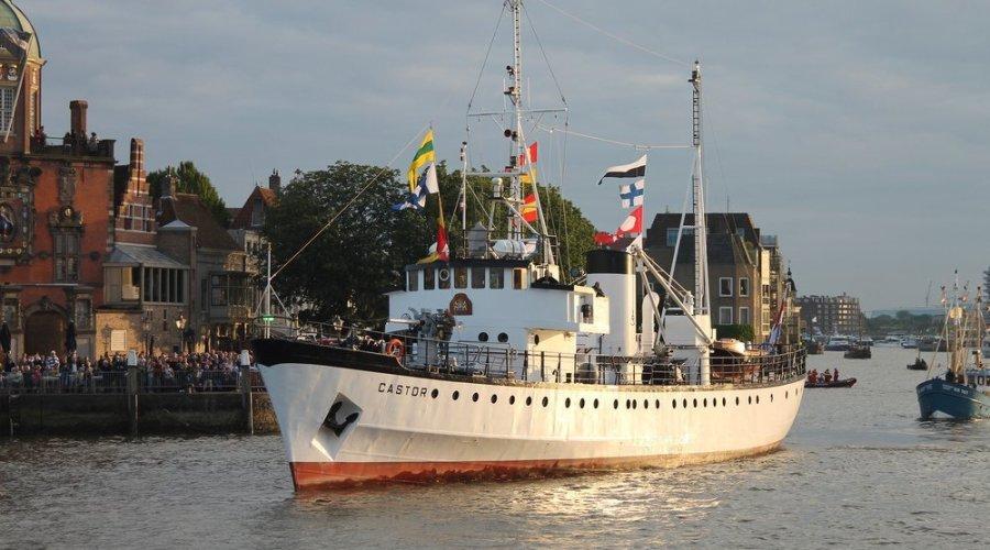 Hochiki Europe takes to the sea on ex-Dutch Navy ship