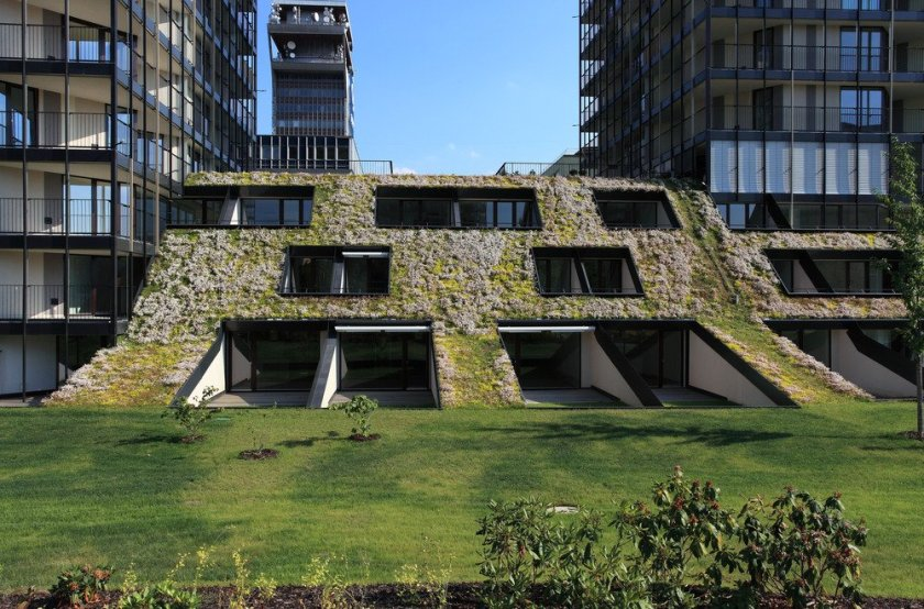 Pitched Green Roofs – A Modern Design Element