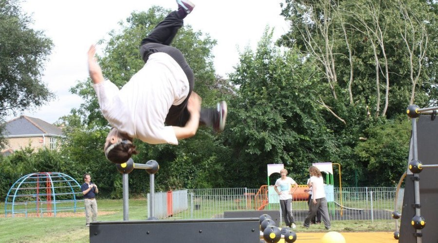 New parkour site proves popular