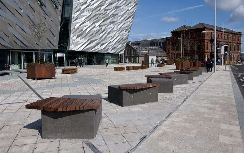 Townscape supplies anti-terrorist protection to Belfast