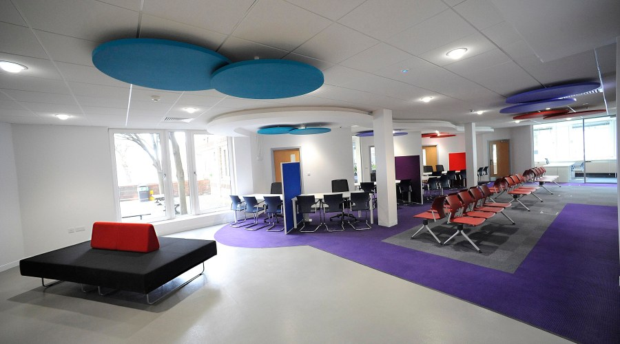 An array of colour for council offices in Worthing