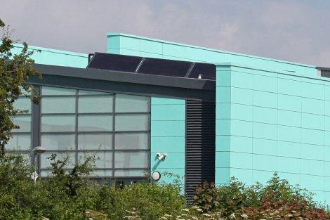 BAXI Solar Panels, Oswestry Leisure Centre