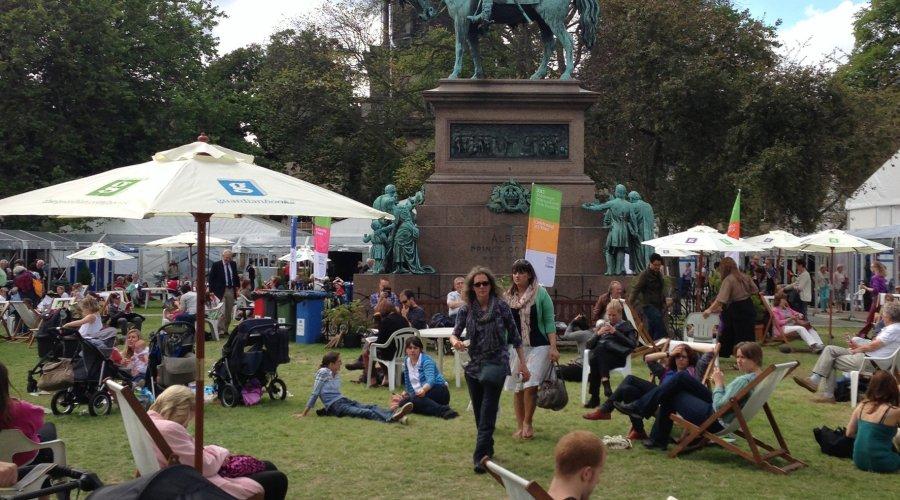 Elta Fans brings breath of fresh air to this year's Edinburgh International Book Festival