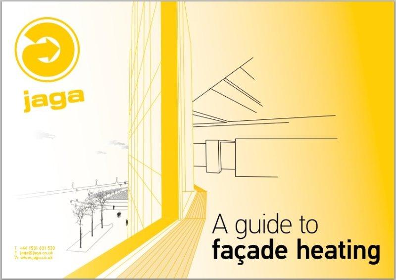 "Jaga launches eGuide portfolio with   ""A Guide to Façade Heating"""