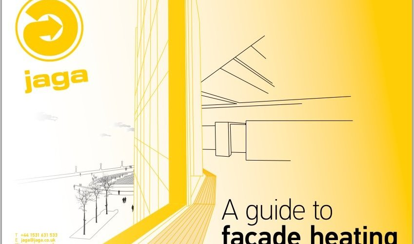 "Jaga launches eGuide portfolio with   ""A Guide to Façade Heating"""