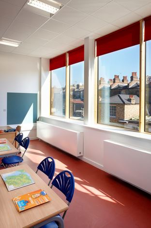 Jaga supports school to achieve BREEAM 'Very Good' 56