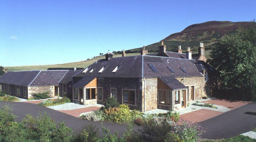 Biomass district heating – Eildon Cottages