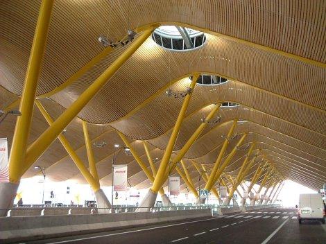 Moso at Madrid Airport