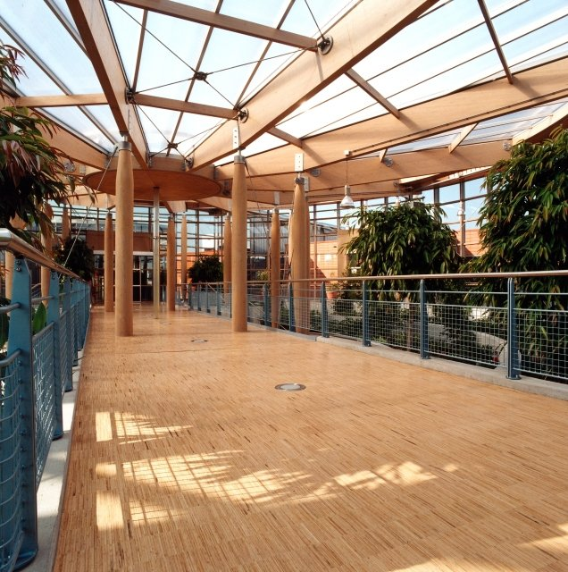 Bamboo is the perfect material for interior flooring