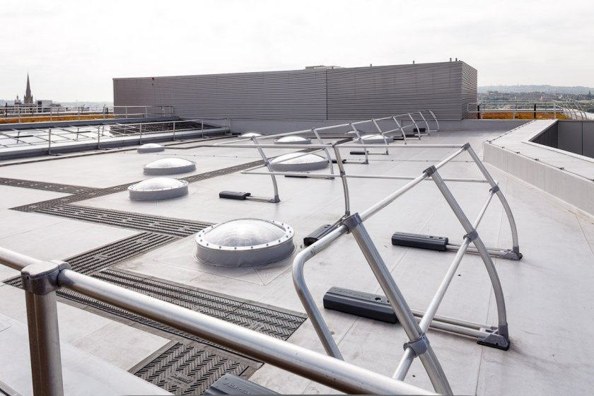 Experienced Sika Sarnafil contractor ensures success of Newcastle's new college roof
