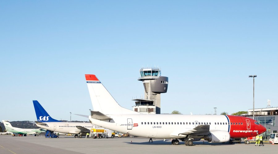 VIVIX® exterior facade panels are a soaring success at Kristiansand Airport, Norway