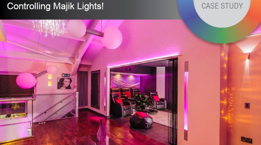 New generation amBX GO - Wowing in the new cinema room at The Majik House, from Sun-Light Solutions Ltd