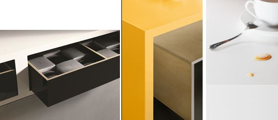 No dark lines: no limits; ColorCore® by Formica Group adds a new dimension with cutting edge new additions 1