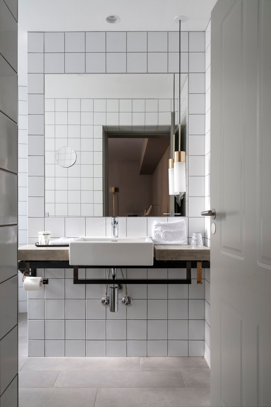 Laufen bathroom solutions help create luxury bohemia in the heart of Copenhagen