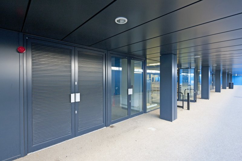 AluK systems supplied for the Burntwood School renewal project