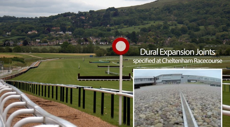 Dural Expansion Joints specified at Cheltenham Racecourse 2