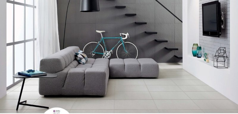 The Doblo polished porcelain range of tiles