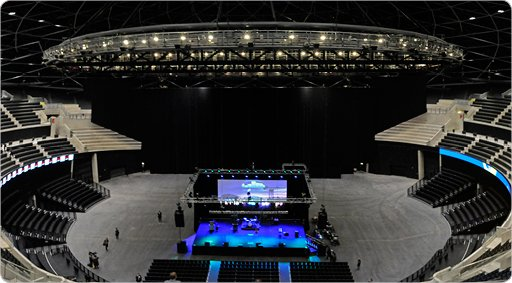 SSE Hydro's Flowfast Floor Supports Singing, Sports and Celebrations