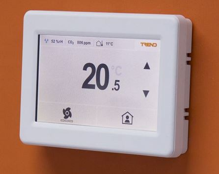 Trend's new Room View sensor & display creates the perfect climate control solution