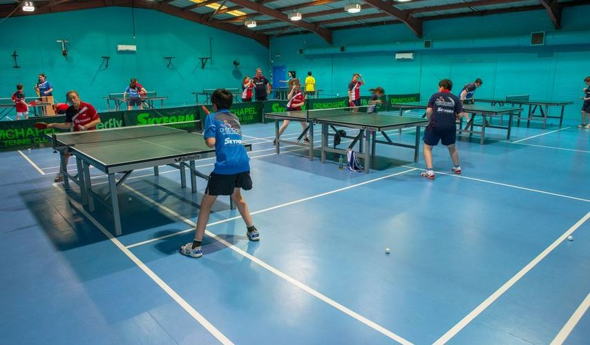 Gerflor take Glasgow table tennis club to a new level!