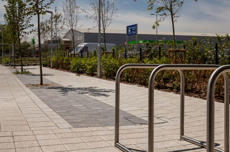 Brett Landscaping assistance helps to challenge perception of space at Hayes development