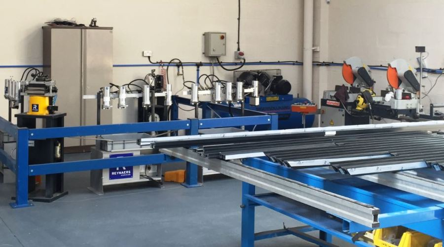 Reynaers has invested in a new high-class training facility for both staff and fabricators