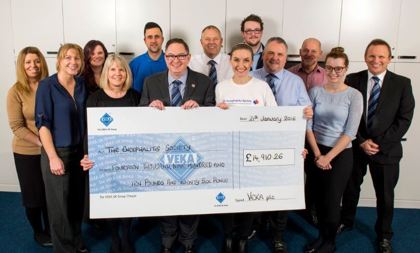VEKA UK virtually triples fund-raising record