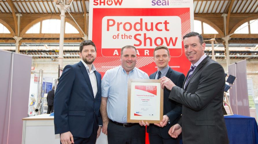 Vent-Axia's Sentinel Kinetic Advance Commended at The Energy Show 2016