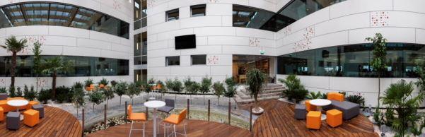 ING specifies Formica Group VIVIX® for interior garden revamp