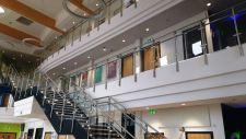 Neaco balustrade featured at landmark college development