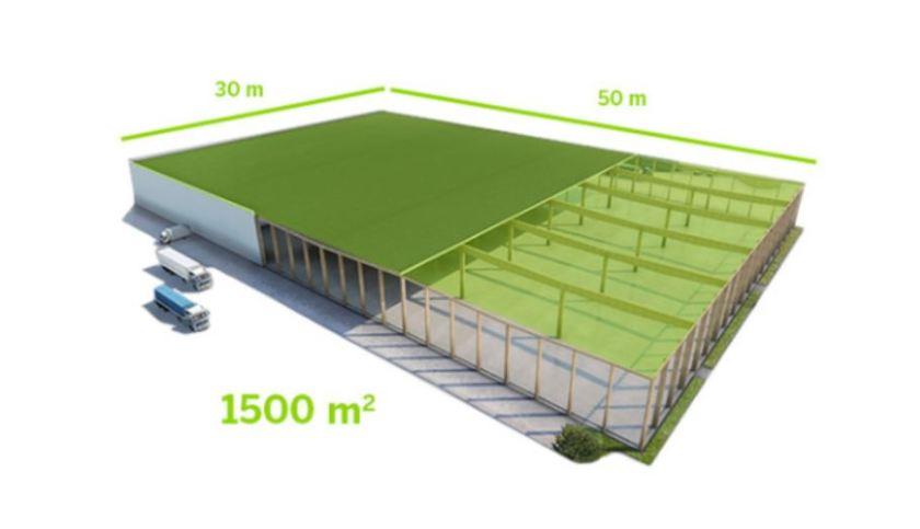 Kerto® LVL roof panels
