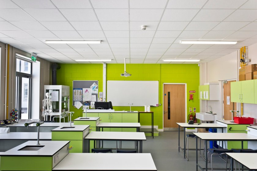 ROCKFON creates the perfect learning environment