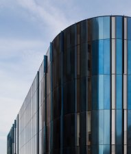Mecanoo Architects use Trimo's bespoke panel solution for HOME, Manchester City Centre