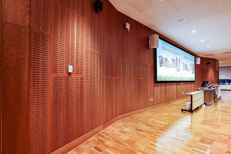 Bespoke ceiling adds unique touch to university refurbishment