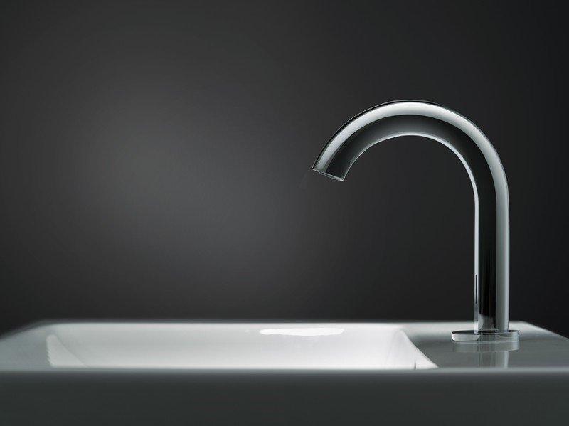 Electronic washbasin taps
