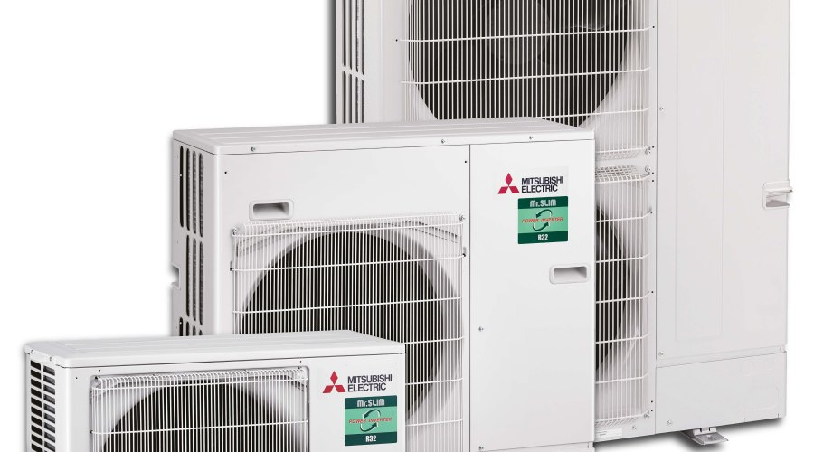 air conditioning units utilising the new refrigerant R32