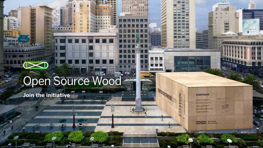Metsä Woodlaunches 'Open Source Wood'