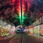 Leake Street: Waterloo's Iconic Graffiti Tunnel Gets Lit